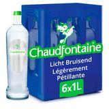 Chaudfontaine Licht Bruisend Natuurlijk Mineraalwater 6 x 1 L