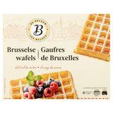 Les Belges Gaufres de Bruxelles 4 x 80 g
