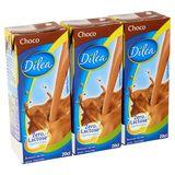 Dilea Zero Lactose Choco melkdrank 3 x 20 cl