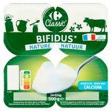 Carrefour Bifidus Nature 4 x 125 g