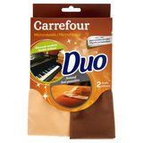Carrefour Microfibres Duo Meubles Brillants / Anti-Poussière 2 Pièces