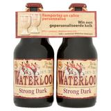 Waterloo Strong Dark Fles 4 x 33 cl