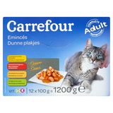 Carrefour Dunne Plakjes in Saus 12 x 100 g