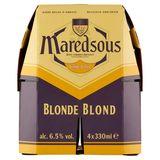 Maredsous Belgisch Abdijbier Blond 6° Flessen 4 x 33 cl