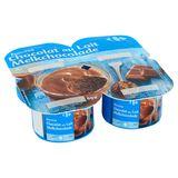 Carrefour Mousse Melkchocolade 4 x 60 g