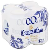 Hoegaarden Blanche 0.0% Alc Canettes 4 x 33 cl