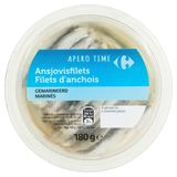 Carrefour Apero Time Filets d'Anchois Marinés 180 g
