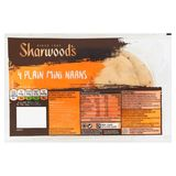 Sharwood's Plain Mini Naans 4 Stuks