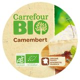 Carrefour Bio Camembert 250 g