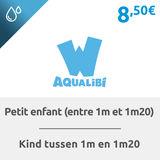 Aqualibi: Billet enfant  (entre 1m20 - 1m40)