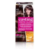 L'Oréal Paris Casting Crème Gloss 412 Midden As Parelmoerbruin
