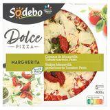 Sodebo Margherita Stukjes Mozzarella, Gemarineerde Tomaten, Pesto 400g