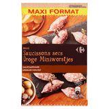 Carrefour Mini Saucissons Secs Maxi Format 200 g