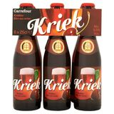 Carrefour Kriek Kriekbier Flessen 6 x 25 cl