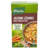 Knorr Smaak van Toen Tetra Soep Julienne Groenten en Balletjes 1 L