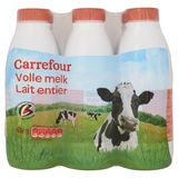 Carrefour Volle Melk 6 x 1 L