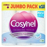 Cosynel The Original Premium Blauw 3 Lagen Toiletpapier 18 Rollen