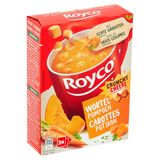 Royco Crunchy Cheese Smaak Wortel Pompoen 3 x 22.7 g