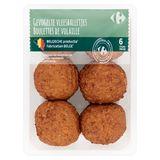 Carrefour Gevogelte Vleesballetjes 6 Stuks 450 g