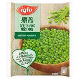 Iglo Petits Pois Très Fins 750 g