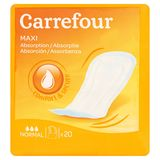 Carrefour Maxi Absorptie Comfort & Secure Normal 20 Stuks