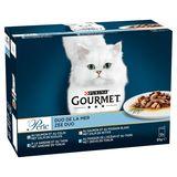 Gourmet Perle Chat Les Duos de la Mer 12 x 85 g