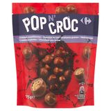 Carrefour Pop n' Croc Krokante Granen Melkchocolade 175 g