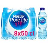 NESTLE PURE LIFE Plat Bronwater 8 x 0.5 L
