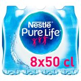 NESTLE PURE LIFE® Plat Bronwater 8 x 0.5 L