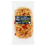 Carrefour Traiteur Trattoria Focaccia Poivrons Rouges & Olives 230 g