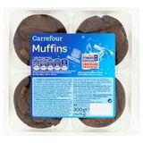 Carrefour Muffins met Stukjes Chocolade 4 x 75 g