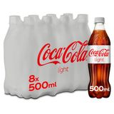 Coca-Cola Light Pet 8 x 500 ml