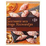 Carrefour Mini Saucissons Secs 75 g
