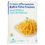 Extra Fijne Frieten voor de Friteuse 2.5 kg