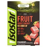 Isostar Fruit Boost Energy Strawberry 10 x 10 g