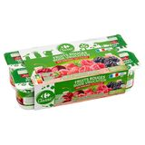 Carrefour Yaourts Fruits Rouges 8 x 125 g