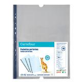 Carrefour 50 Pochettes perforées A4