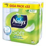 Nalys Soft Toiletpapier Giga Pack 32 Rollen