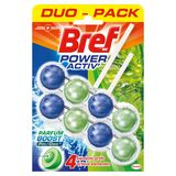 Bref WC Power Activ' Parfum Boost Pin Duo Pack 2 x 50 g