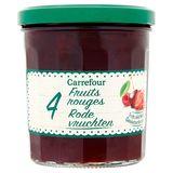 Carrefour 4 Rode Vruchten 370 g