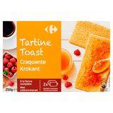 Carrefour Toast met Volkorentarwe 250 g