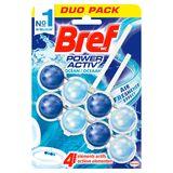 Bref WC Power Activ' Parfum Boost Oceaan Duo Pack 2 x 50 g