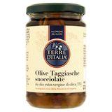 Terre d'Italia Olive Taggiasche Snocciolate in Olio Extra Vergine di Oliva (33%) 270 g