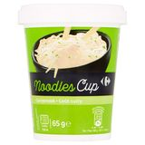 Carrefour Noodles Cup Currysmaak 65 g