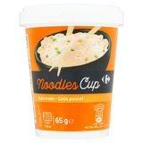 Carrefour Noodles Cup Kipsmaak 65 g