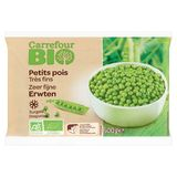 Carrefour Bio Zeer Fijne Erwten 600 g