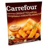 Carrefour Pommes Croquettes Préfrites Dorées 1 kg