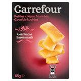 Carrefour Gevulde Koekjes Baconsmaak 65 g