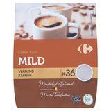 Carrefour Coffee Pads Mild Verfijnd 36 x 7 g