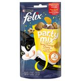 FELIX Party Mix Alimentation Chat Cheesy Mix Biscuit Chat 60 g